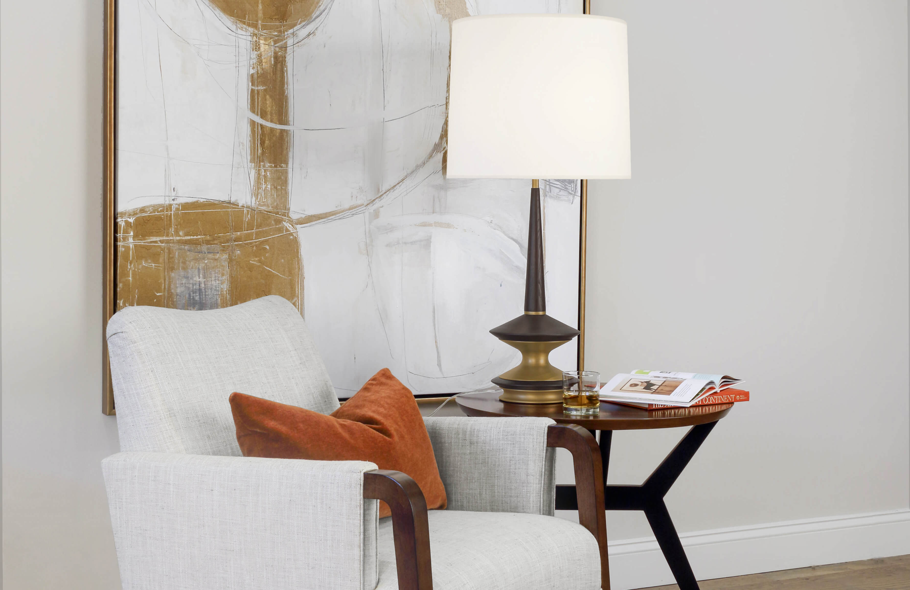 FLETCHER TABLE LAMP by Robert Abbey