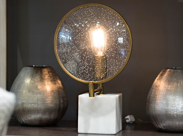 FINEAS ACCENT LAMP by Robert Abbey