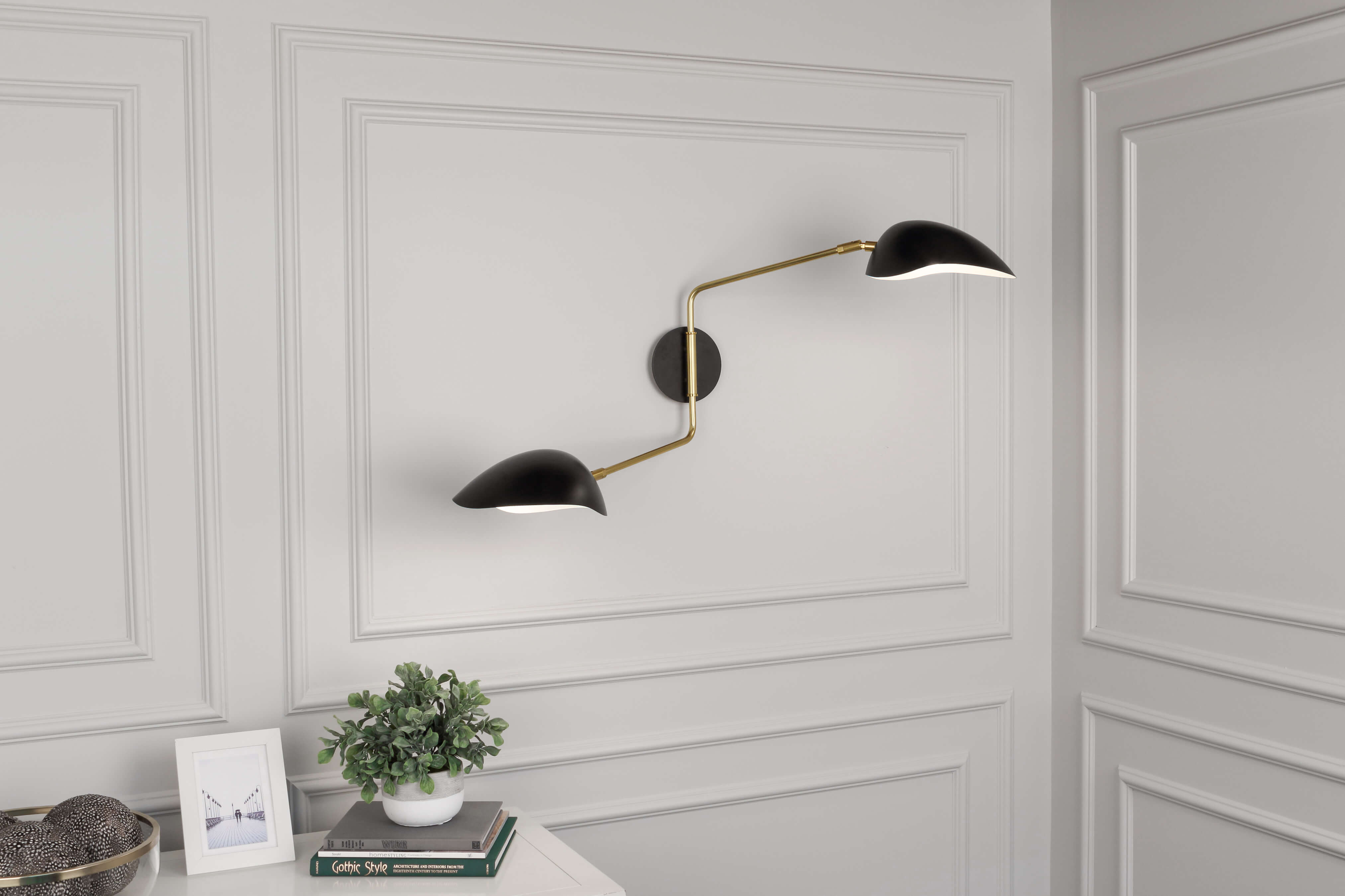 RICO ESPINET RACER WALL SCONCE by Robert Abbey