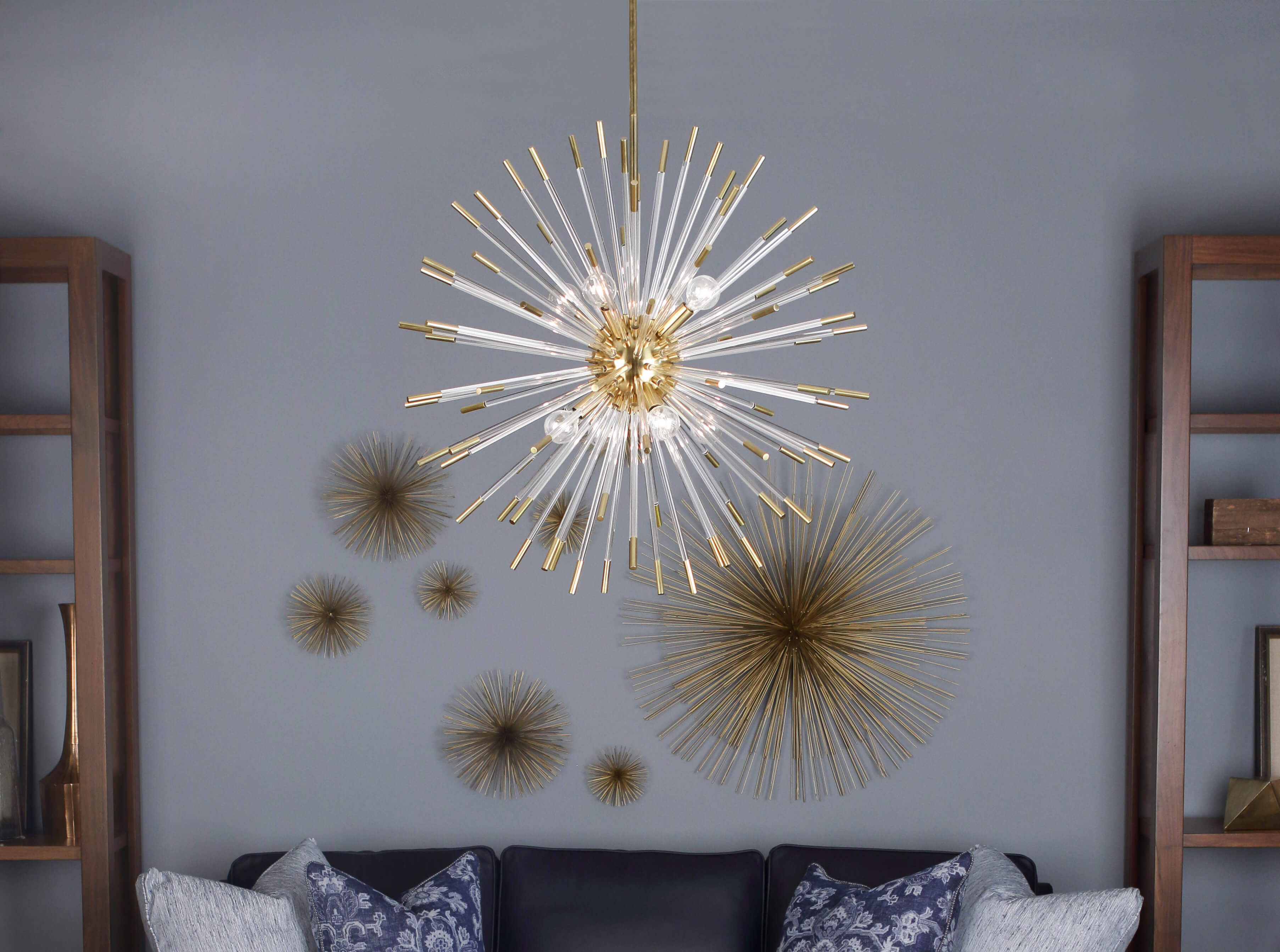 ANDROMEDA CHANDELIER by Robert Abbey