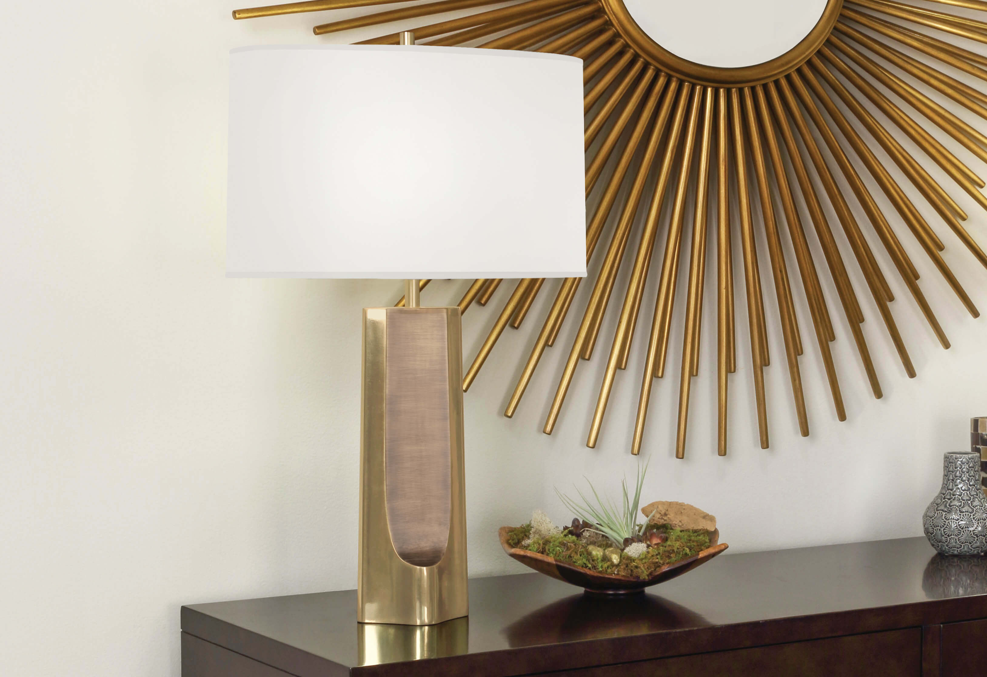 MARGEAUX TABLE LAMP by Robert Abbey