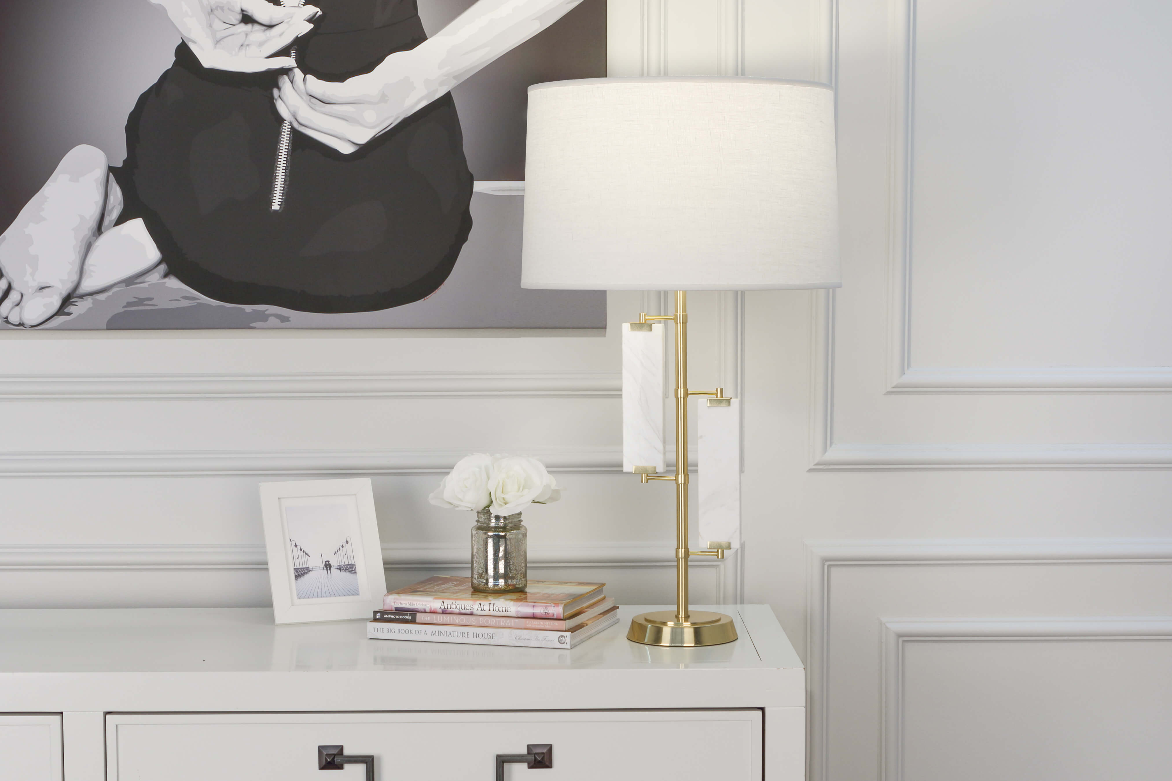 ALSTON TABLE LAMP by Robert Abbey