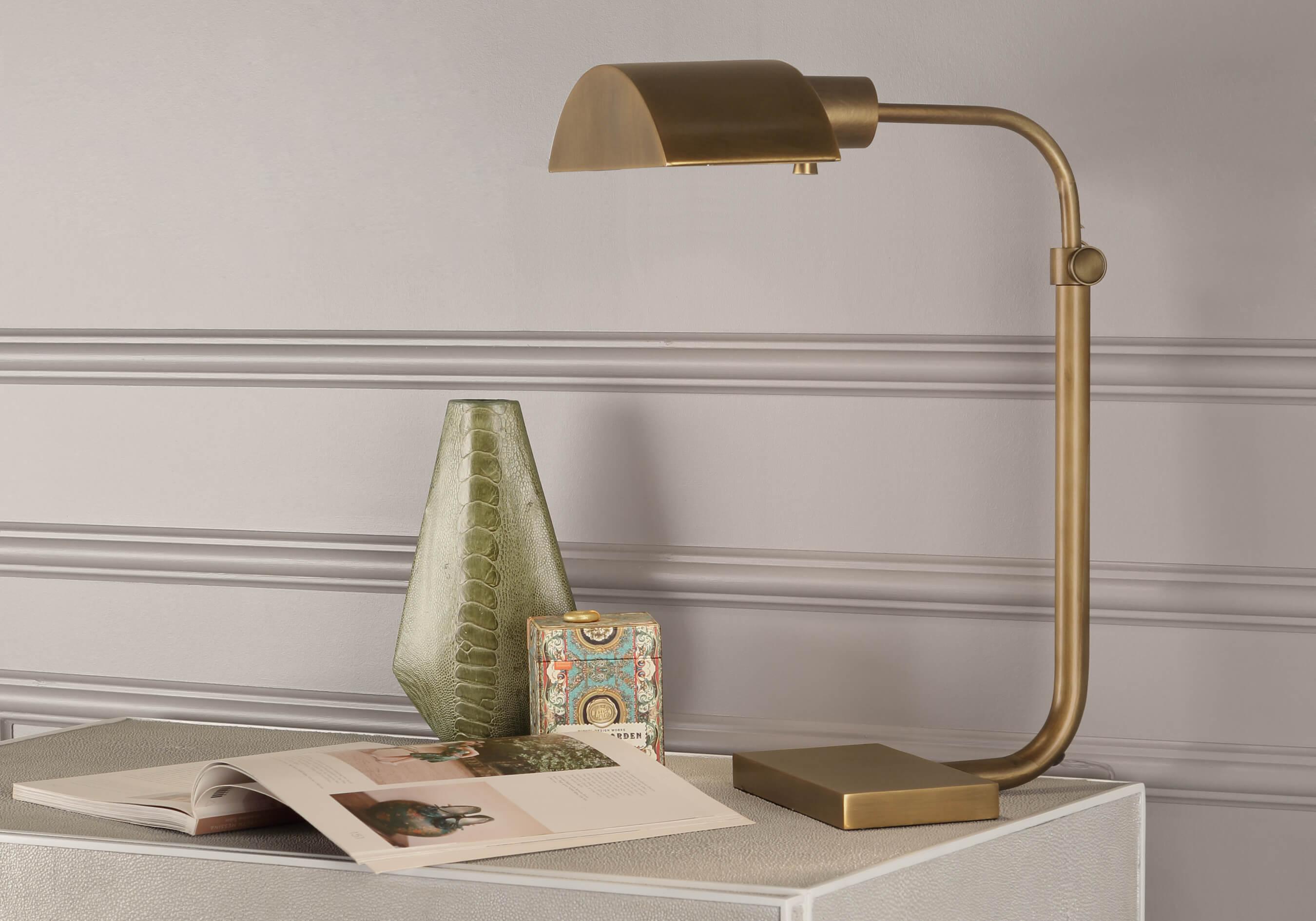 KOLEMAN TABLE LAMP by Robert Abbey