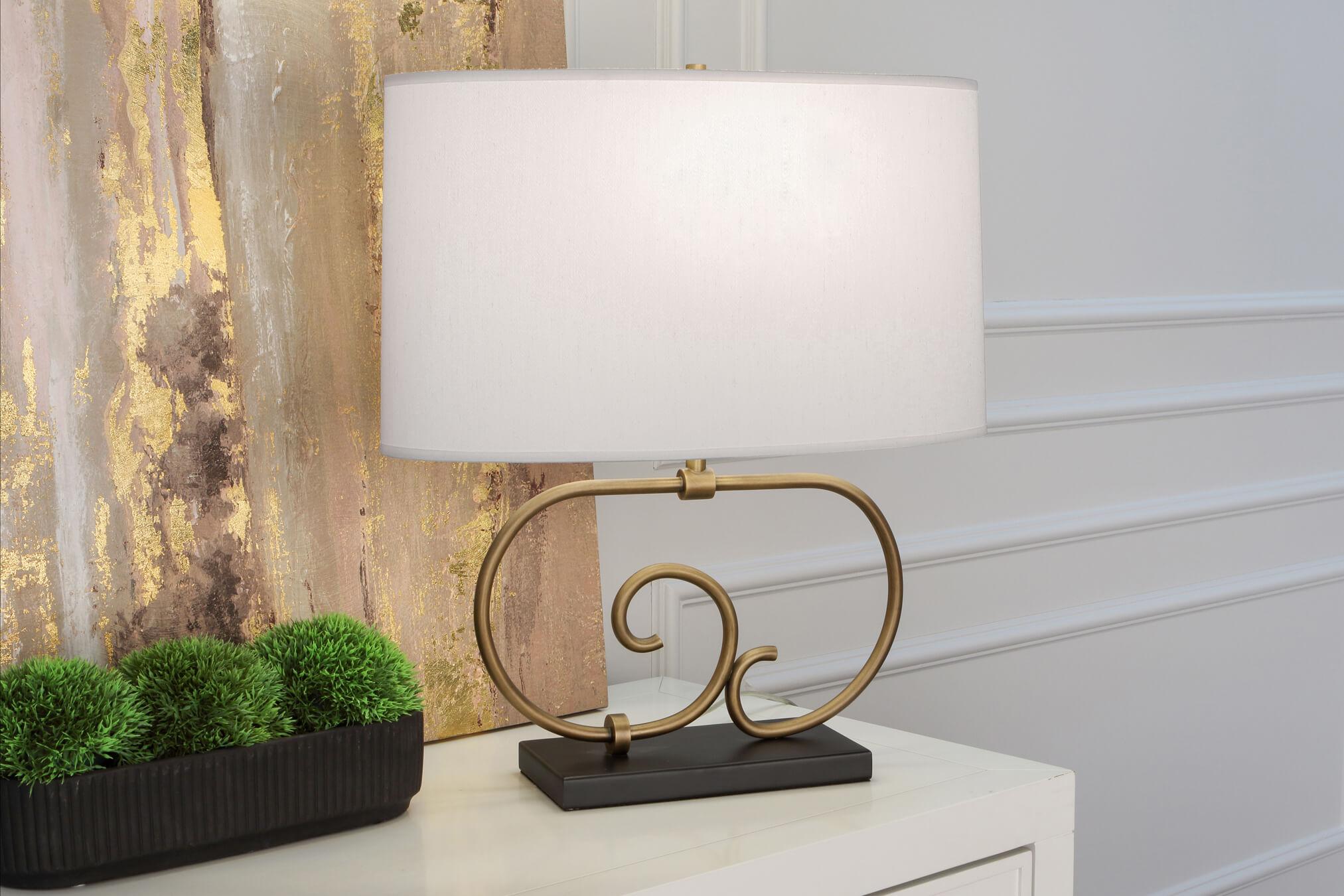 CHLOE TABLE LAMP by Robert Abbey