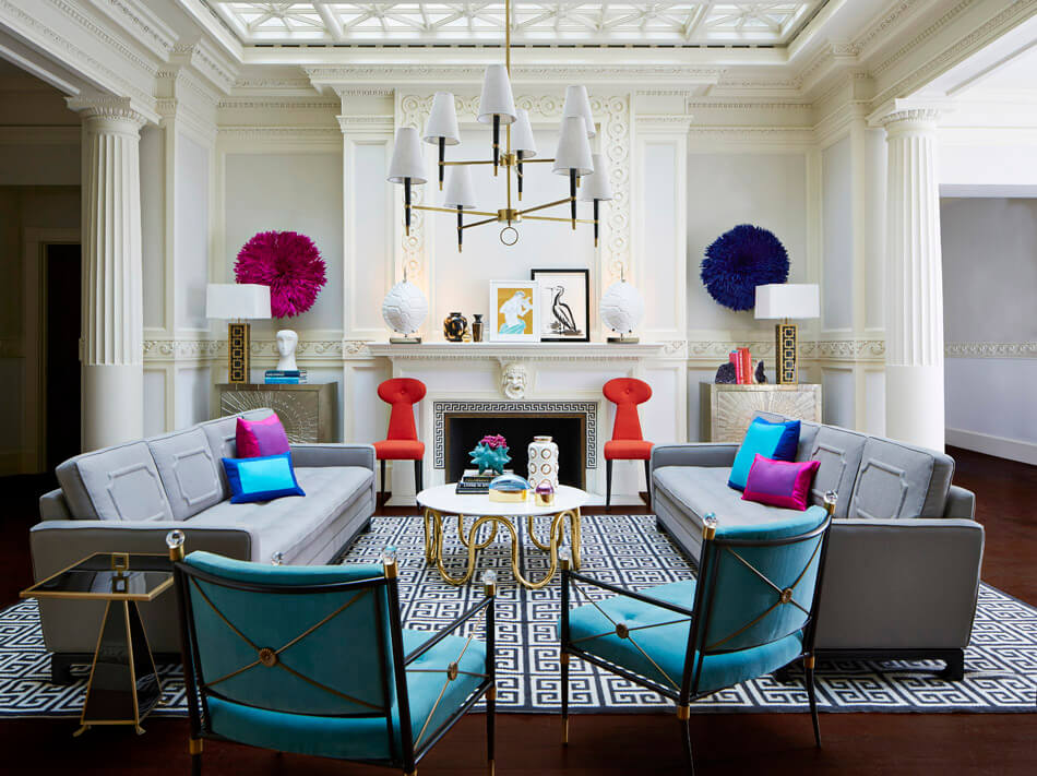 JONATHAN ADLER VENTANA CHANDELIER by Robert Abbey