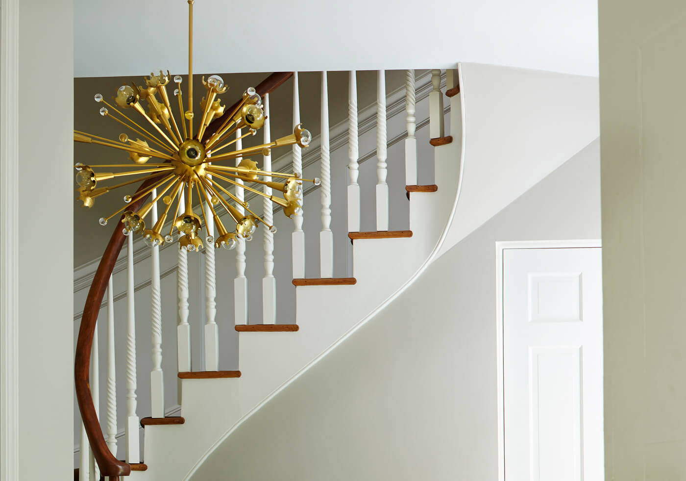 JONATHAN ADLER SPUTNIK CHANDELIER by Robert Abbey