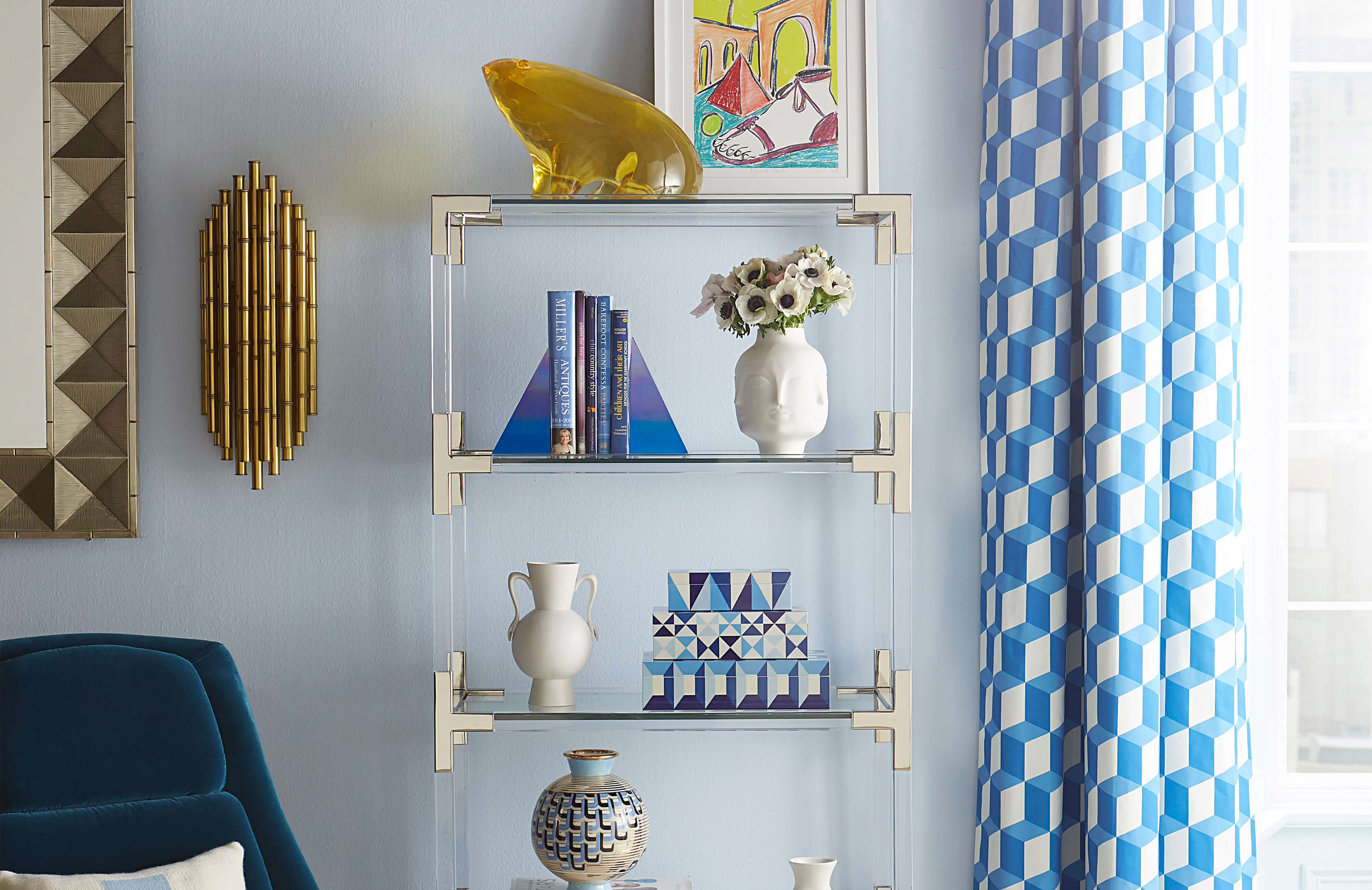 JONATHAN ADLER MEURICE WALL SCONCE by Robert Abbey