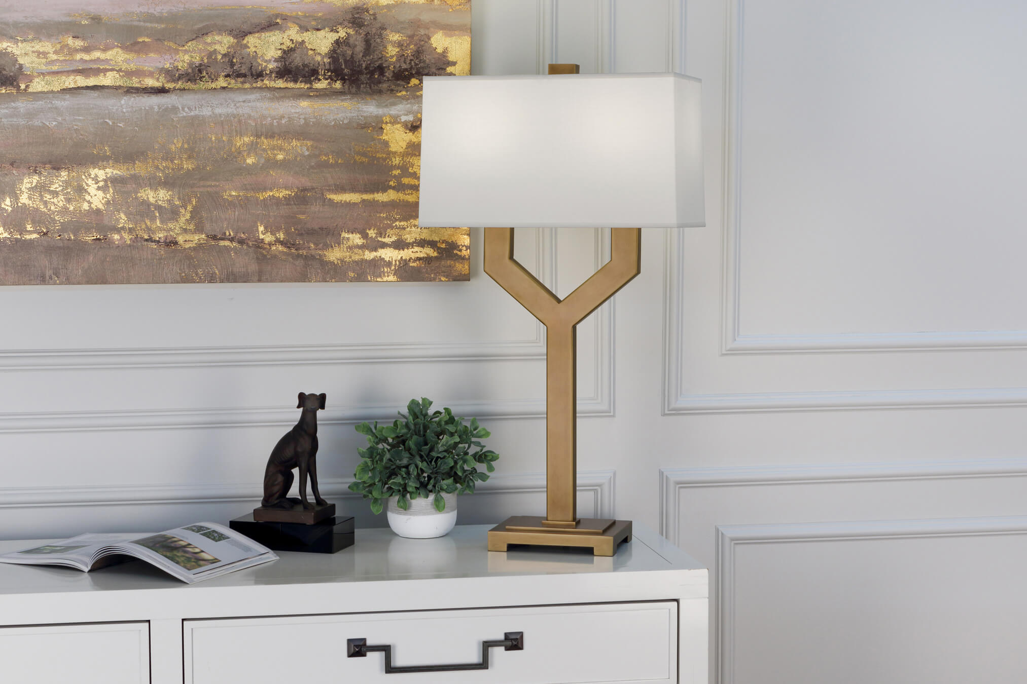 VALERIE TABLE LAMP by Robert Abbey