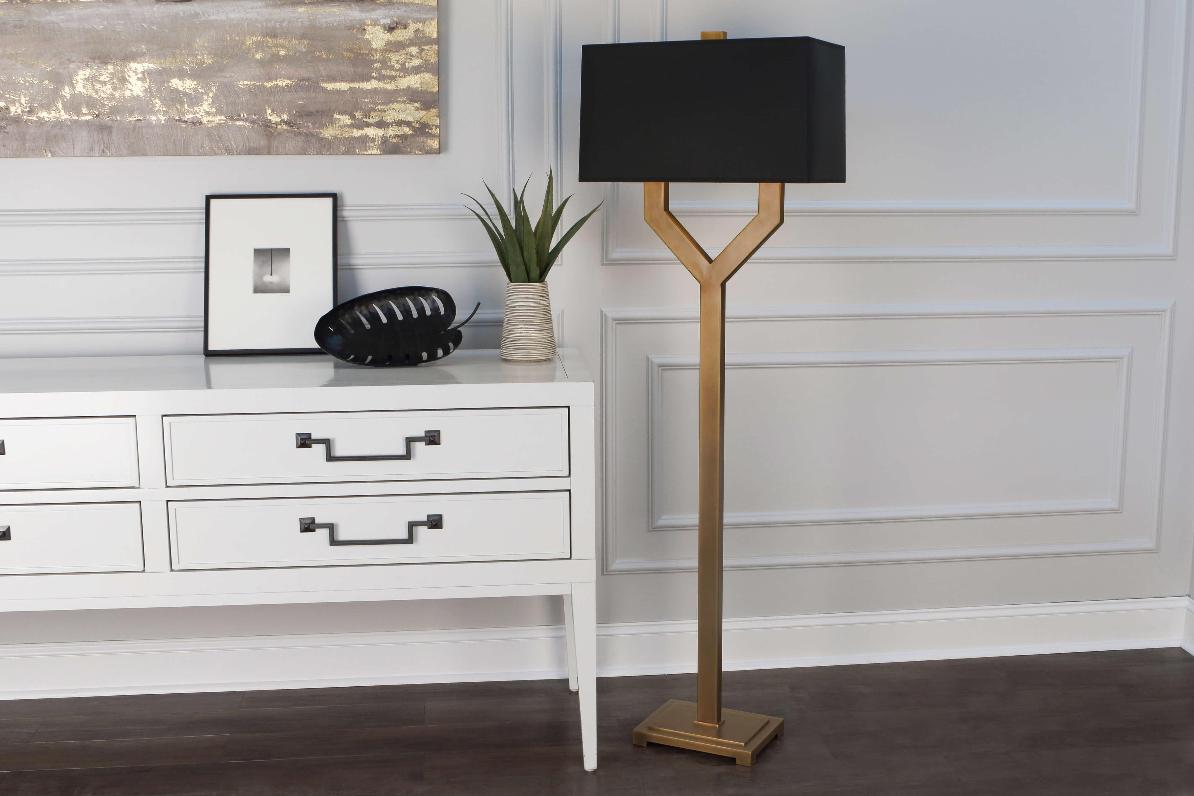 VALERIE FLOOR LAMP by Robert Abbey