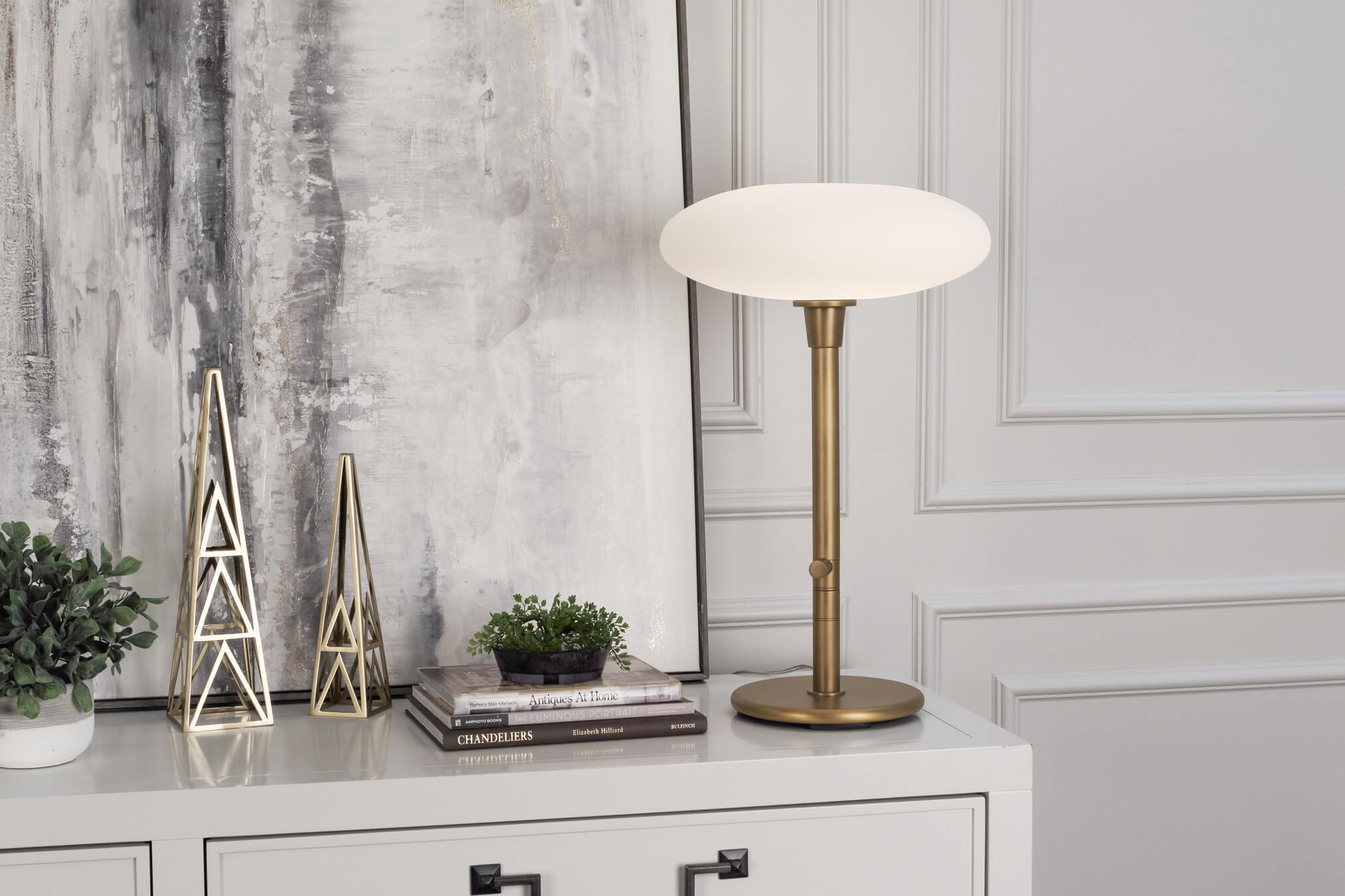 RICO ESPINET OVO TABLE LAMP by Robert Abbey