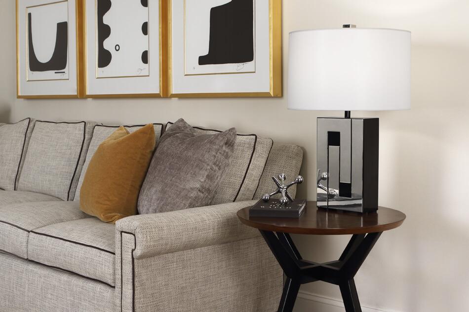 BLOX TABLE LAMP by Robert Abbey