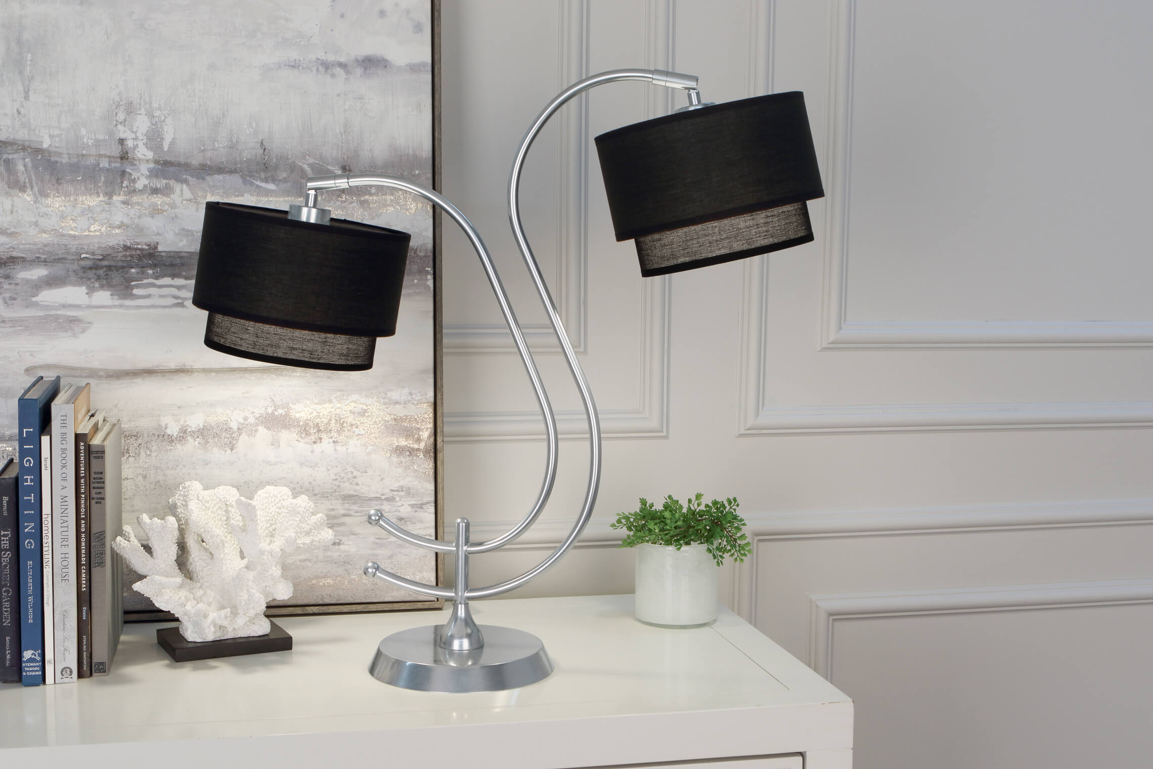 CHARLEE TABLE LAMP by Robert Abbey