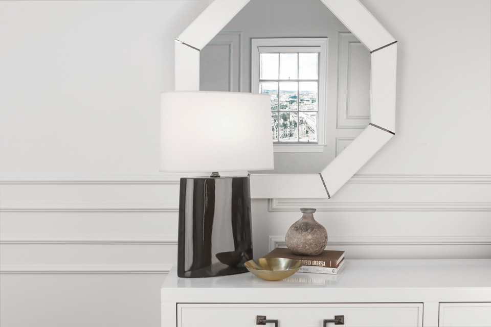 VICTOR TABLE LAMP by Robert Abbey