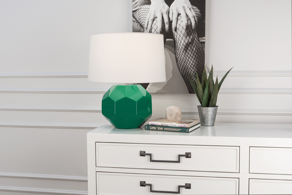FRANKLIN TABLE LAMP by Robert Abbey