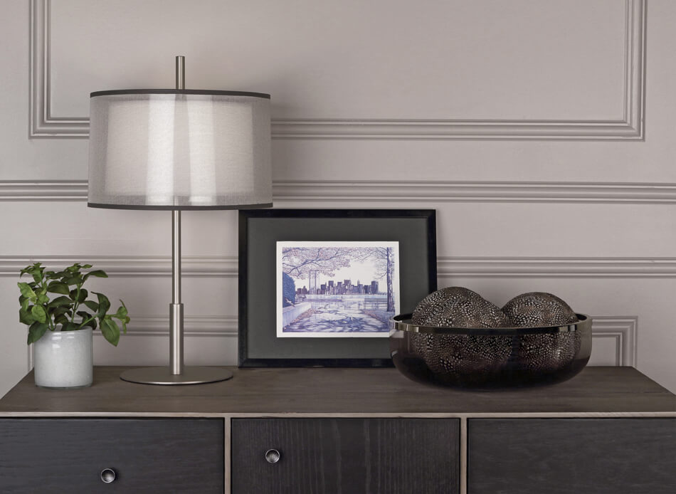 SATURNIA ACCENT LAMP by Robert Abbey