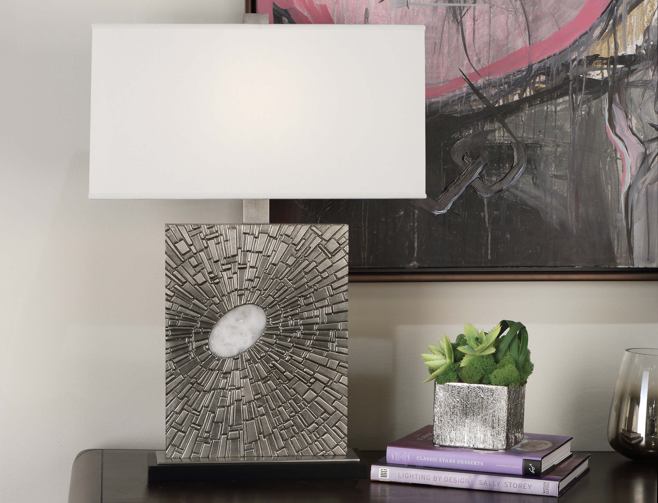GOLIATH TABLE LAMP by Robert Abbey