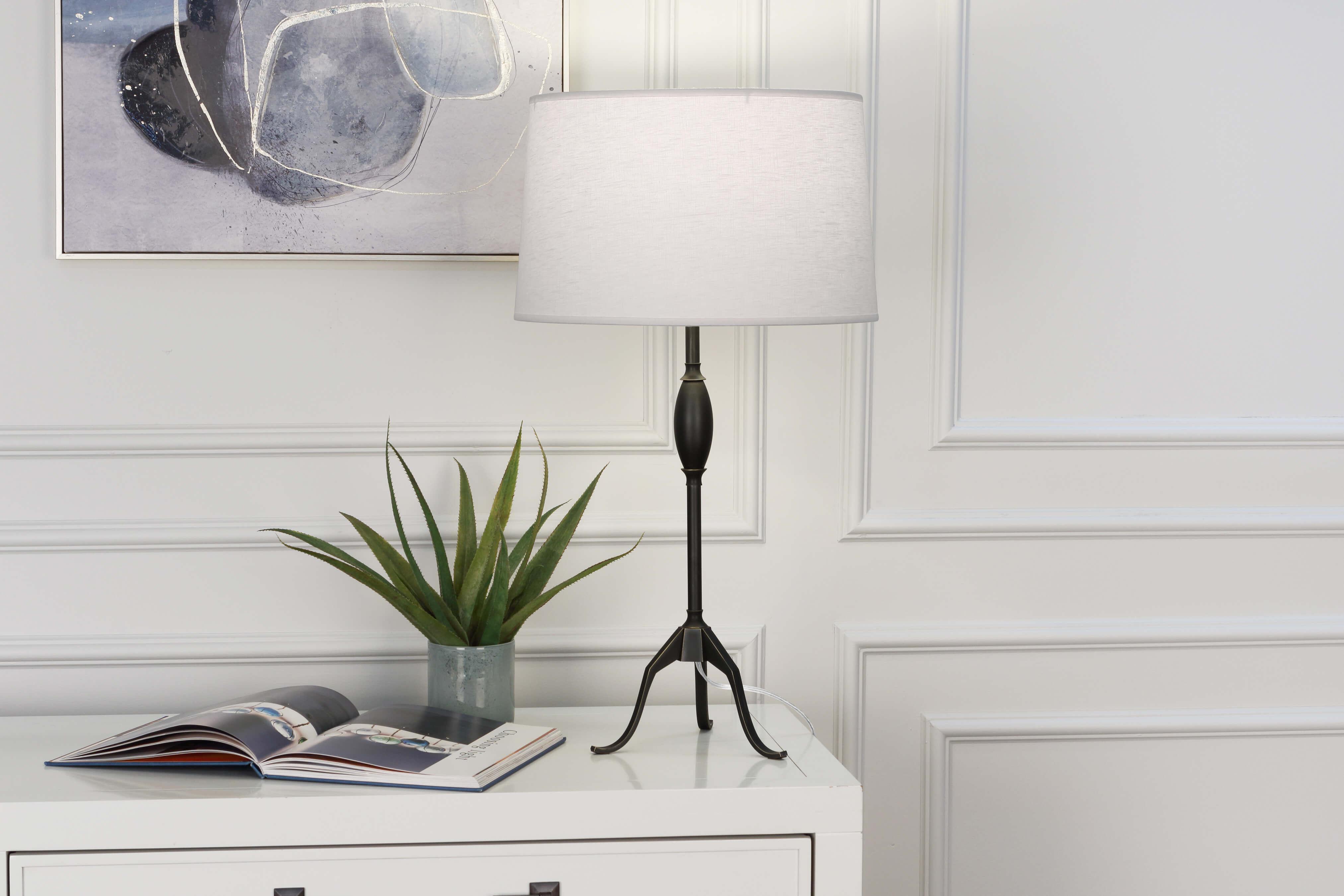 GRACE TABLE LAMP by Robert Abbey